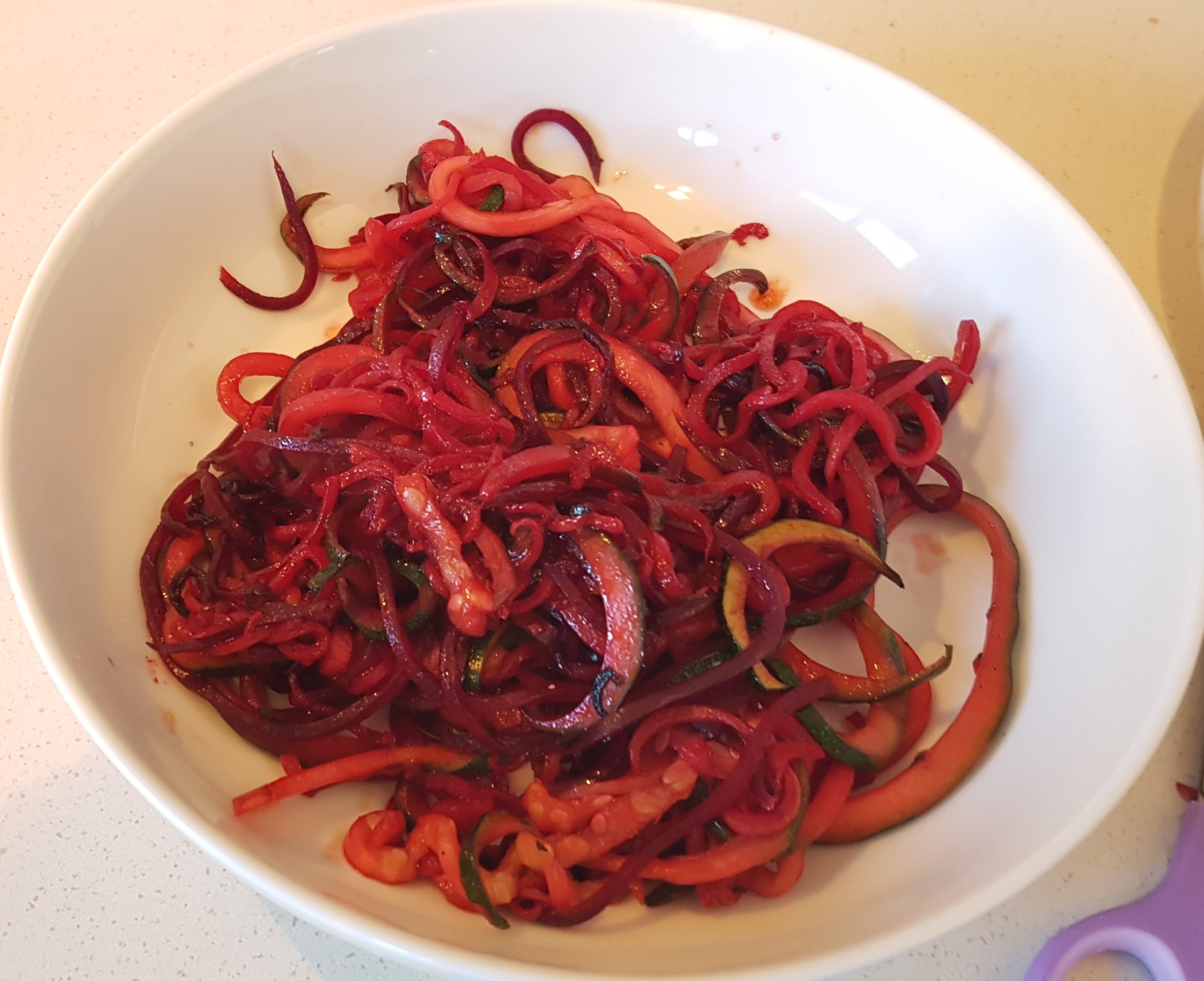 Spiralized veg